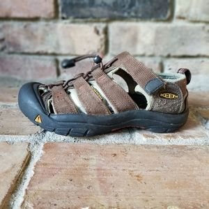 KEEN Newport H2 Youth Brown Sandals Shoes Sz 1